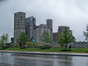 What Gigantic Global Movement did these Towering Edifices of Greater Western New York Generate?